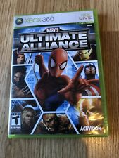 Marvel: Ultimate Alliance (Microsoft Xbox 360, 2006) Nice Disk Works VC1