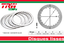 9 Disques Lisses d'Embrayage  KAWASAKI ZX 6R ZX 9R Z 1000 ZX 10R