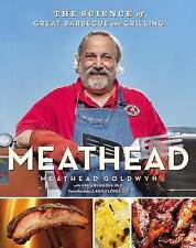 NEW Meathead: The Science of Great Barbecue and Grilling by Meathead Goldwyn