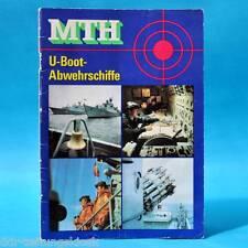 DDR | MTH U-Boot-Abwehrschiffe | 2. A 1988 Militärtechnische Hefte