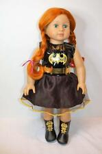 """18"""" Modern doll Red Hair 3+ Quality Super Outfits any little girl would love"""
