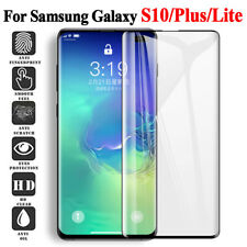 For Samsung Galaxy S10 S10e S10 Plus Tempered Glass Screen Protector Film 5D Sl