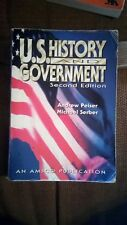 U. S. History and Government by Michael Serber and Andrew Peiser (2001, Paperba…