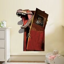 Dinosaur Wall Stickers 3D Decals Mural Art Wallpaper Poster Decor Living Room