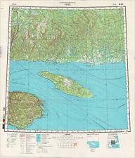 Russian Soviet Military Topographic Maps - GASPE (Canada), 1:1 000 000, ed.1990_