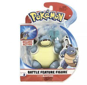 Pokémon Battle Feature Figure Blastoise Deluxe Action NEW