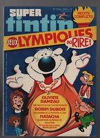 Super Tintin n°9. Jeux Olympiques du rire. Lombard 1980. Natacha, Robin Dubois
