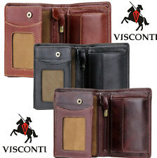 Visconti RFID Blocking Men's Gift Boxed Real Leather Wallet 'Lucca' TSC-44