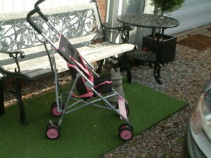 Scally Wags Compact, Fast Fold, Lightweight, Travel Pushchair, Ideal for the Car