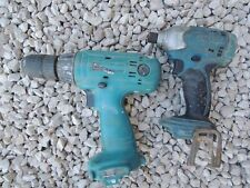 lot 2 MAKITA perceuse visseuse 12v + Impact BTD 140 18V  LXT non fonction pieces