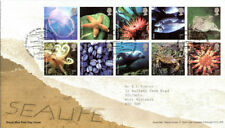Fish Great Britain Commemorative First Day Covers (1971-Now)