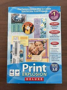 NEW Nova Development Print Explosion Deluxe 3.0 for Mac (2006)