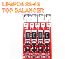 4S 3S 2S LiFePo4 IFR 12.8V 14.4V  BMS Top-Balance Board 3.2V 3.6V each Cell