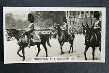 Brigade of Guards  Trooping The Colour    1930's Vintage Card  # VGC