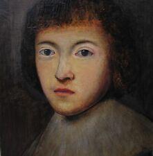 Anonym Portrait Junger Mann weißer Kragen Im Stile des niederländischen Barock