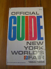 Official Guide to the New York World's Fair 1964/1965 - Time-Life