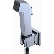 Square Hand-held Toilet Bidet Spray Shattaf Sprayer Head Shattaf Shower 02-015