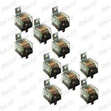 529 Relay 5 Pin 100 Amp 12v Car Automotive Truck Alarm Bulb Set 10 Ten Pcs