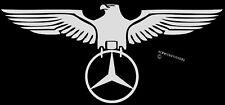 GERMAN EAGLE MERC STICKER POLISHED CHROME FINISH