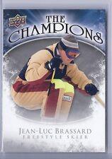 2009-10 UPPER DECK JEAN LUC BRASSARD THE CHAMPIONS #CH-JB FREESTYLE SKIER