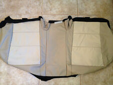 2012 Toyota Camry Factory Original Seat Cover REAR LOWER (Tan Two Toned LTHR)