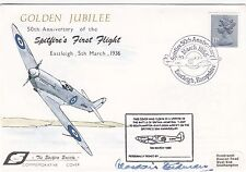 50th Anniv Spitfire's 1st Flight Signed Air Chief Marshal Sir Alasdir Steedman