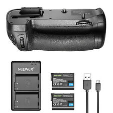 Neewer Battery Grip Replacement for MB-D15 +Battery +Charger f Nikon D7100 D7200