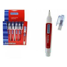 Stylo Correcteur Blanc 7ml Type Blanco Effaceur Correction Ecole Scolaire