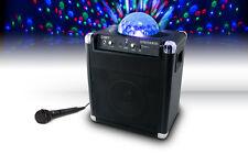 ION Audio Party Rocker Bluetooth Speaker Disco Ball Light Show Karaoke RRP $399
