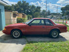1987 Ford Mustang LX 1987 Ford Mustang Notchback