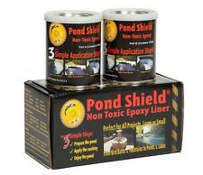 Epoxy Pool Pond Paint Coating Liner Aquarium Non Toxic Shield 1.5 Quart Black