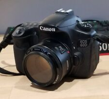 Canon 60d with 50mm f1.8 lens