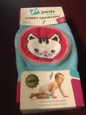 Peds baby knee pads comfy crawlers 2 pair