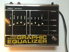 Vintage 1970's Electro Harmonix Graphic Equalizer Pedal / Clean / Original Box
