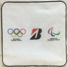 LIMITED Bridgestone Tokyo 2020 Worldwide Olympic Paralympic Partner Towel JAPAN