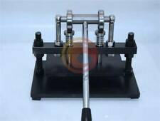 Manual Leathercraft Cutting Machine Leather Paper PVC Sheet Punch Cutter 22*36cm