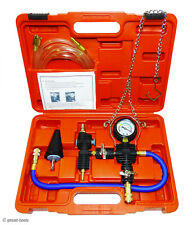 Automotive Cooling System Filler Kit, vacuum type refill filling tool, air tools