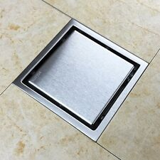 Tile Insert Invisible Floor Shower Drain Wetroom Bathroom 304 Stainless Steel
