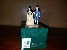 Lang & Wise Colonial Williamsburg - Couple attending Governor's Ball with Box