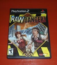 Raw Danger (Sony PlayStation 2, 2007 PS2)-Complete