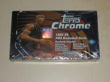 1998-99 Topps Chrome Basketball Hobby Box 24 Packs Michael Jordan Refractors