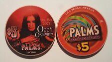 $5 Las Vegas Palms Ozzy Osbourne Casino Chip - UNCIRCULATED