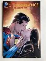 Convergence Flashpoint Book 1 DC Comics Trade Paperback Graphic Novel Nice Copy!