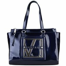 Versace Jeans Designer Patent Handbag