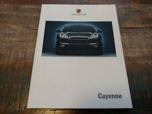 Nice D'Occasion Original Véritable 2003 Porsche Cayenne Sales Brochure W Color
