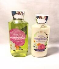 New Bath & Body Works Sweet Magnolia & Clementine Shower Gel Lotion 2 Piece Set