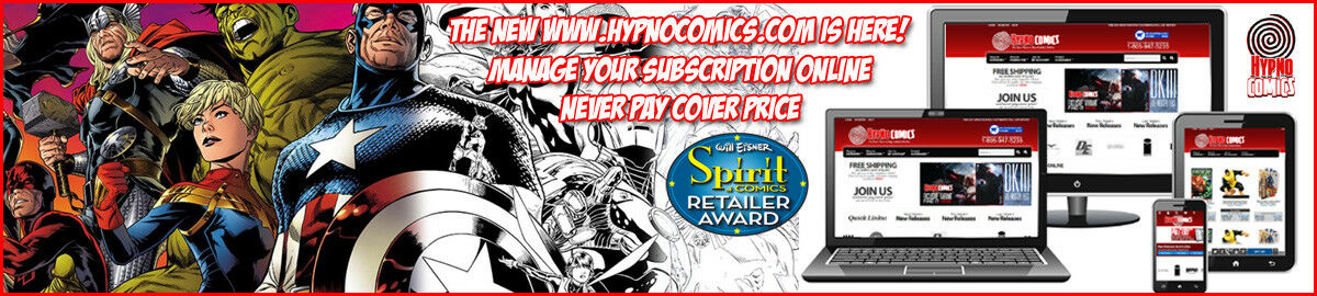 Hypno Comics & Games