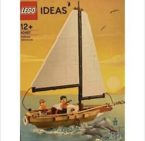 LEGO 40487 SAILBOAT ADVENTURE Perfect Box Guarantee & Global Shipping Available