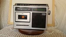 Vintage AVENGER RTR 500 portable Radio Cassette Tape Player Recorder Boombox VGC