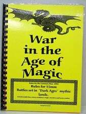 WAR IN THE AGE OF MAGIC 15mm Rules Dark Ages Mythic Lands Peter Pig 74492